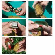 Extra Carp Method In Line feeder kosár töltő