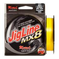 Momoi Jigline MX8 PE fluo sárga fonott zsinór