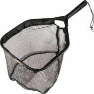 Trout rubber net, merítőszák