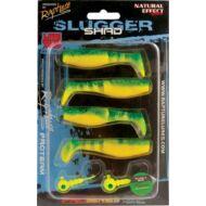 Slugger Shad plasztik csali szett