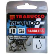 Trabucco Method Plus Feeder szakáll nélküli horog