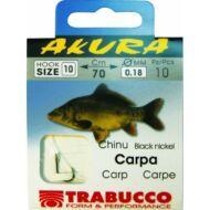 Trabucco Akura Carp előkötött horog