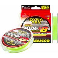 Trabucco Dyna-Tex Slk X8 Ss fonott zsinór 150m lime zöld