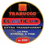 Trabucco Baits Elastic Line csalirögzítő gumiszál