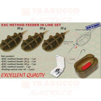 EXC Method In Line feeder kosár szett