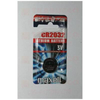 Maxell CR2032 1db gombelem