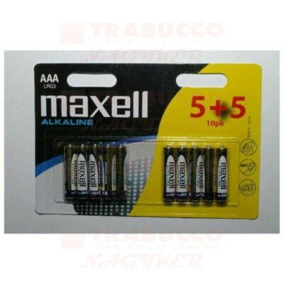 LR03 AAA (mini ceruza) elem