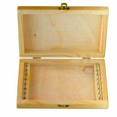 NM Fa előketartó doboz