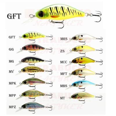 Goldy Kingfisher shallow diving floating wobbler 45 mm
