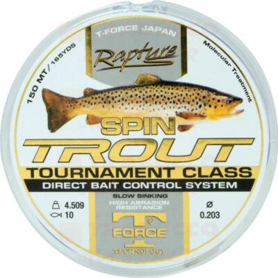 Rapture Spin Trout damil