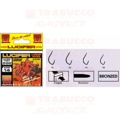 Trabucco Lucifer 888 bronze horog