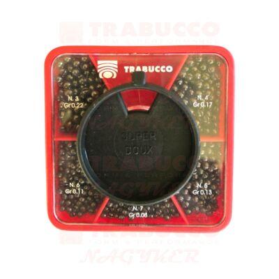 Trabucco GNT Match sörétólom készlet S/Large négyzetes 07-03 (0.08-0,22g)