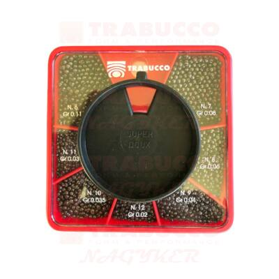 Trabucco GNT Match sörétólom készlet XL/Fine 12-06 (0,02-0,11g)