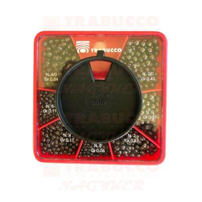 Trabucco GNT Match sörétólom készlet XL/Inglese 08-4/0 (0,06-0,64g)