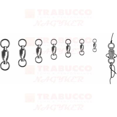 Trabucco BB Swivel Solid Ring csapágyas forgó