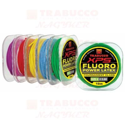 Trabucco XPS Fluoro Latex tömör rakósgumi