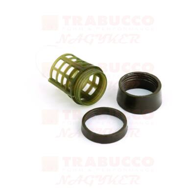 Trabucco Vary Weight Distance Cage feeder kosár cserélhető súllyal
