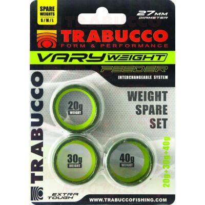 Trabucco Vary Weight Distance Cage Feeder (S,M,L) feeder kosár súly szett