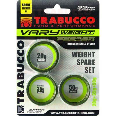 Trabucco Vary Weight Distance Cage Feeder (XL) 20-35-50g feeder kosár súly szett
